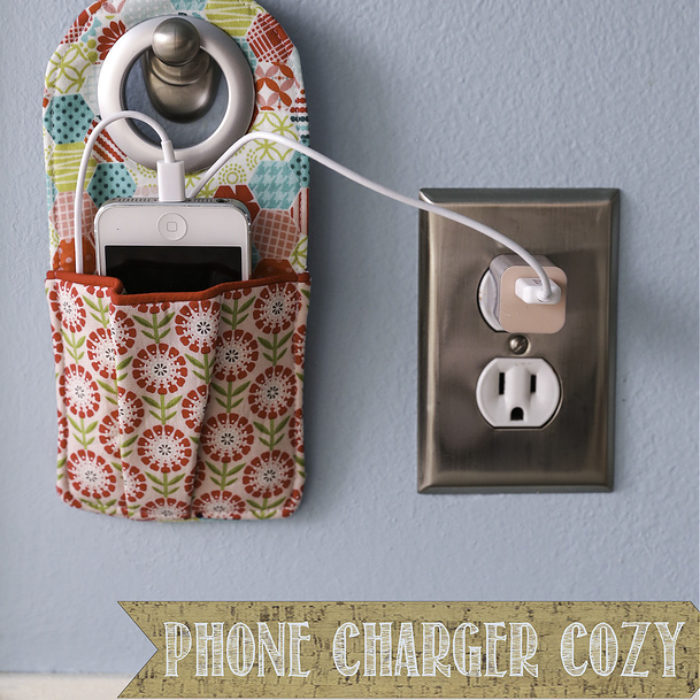 Phone Charger Cozy + Giveaway