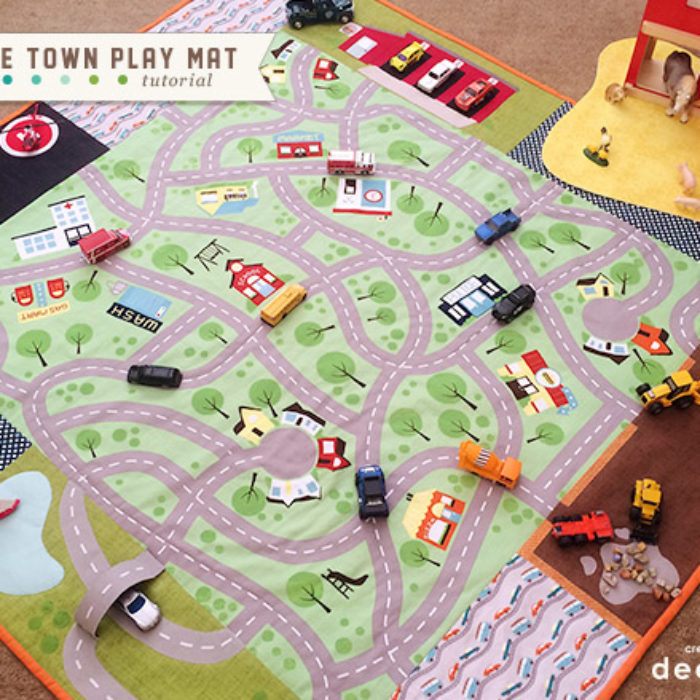 Around the Town Play Mat featuring Wheels 2